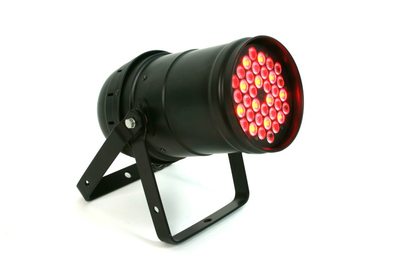 VRL Par-363 PAR56 LED Stage Light w/DMX Control 36 3 Watt LEDs