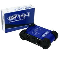OSP IMS-2 Premium Isolated Microphone Splitter 1 In - 2 Out
